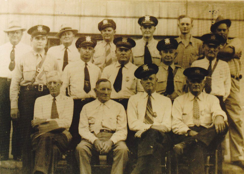 1934 Police Department Staff photo
