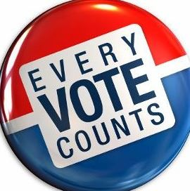 Logo of Every Vote Counts in the 2020 Election
