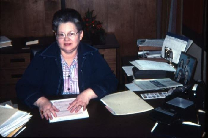 Dorothy Morrison, first director of Marshall Public Library