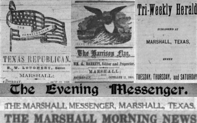 Old Newspaper Banners