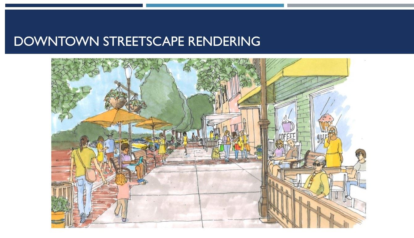 Downtown Street Rendering